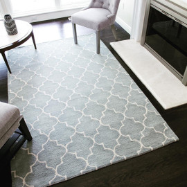Microfiber Polyester jacquard carpet