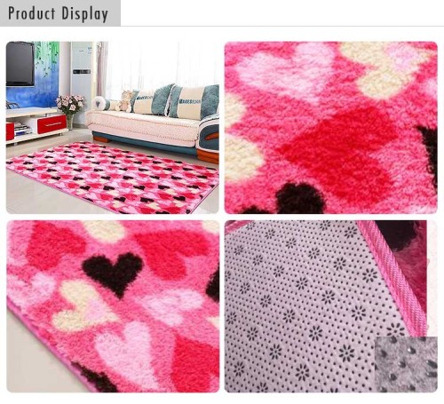 Decorative color jacquard for home indoor carpet rugs