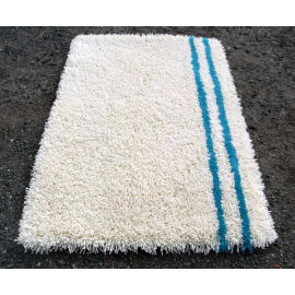 High pile handtufted 100% polyester shaggy rugs for livingroom