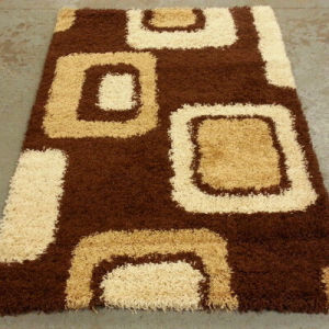 High quality tufted polyester soft shaggy carpets for wholesale