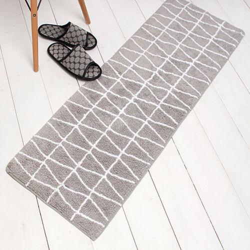 Handtufted 100% polyester shaggy rugs door mats and bathmats