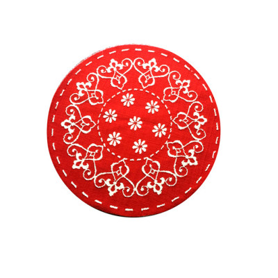 Durable Beautiful design polyester custom flooring mat