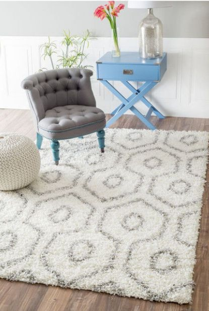 Modern design handtufted 100% polyester shaggy rugs from China