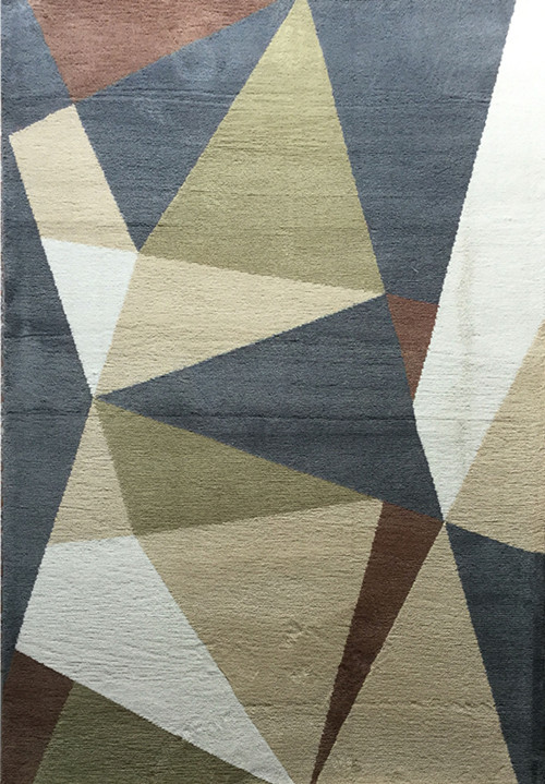 Best-seller Circular Design Plain Carpet Rug Floor For Room