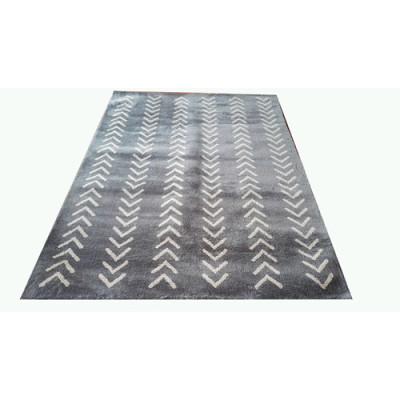 Hot selling quality carpet tile stripe design jacquard carpet
