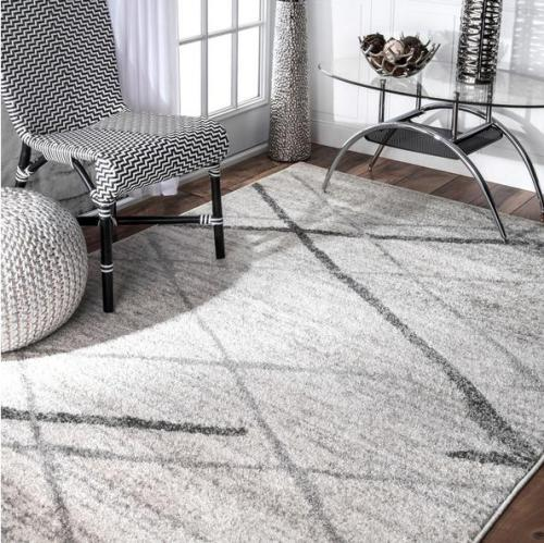 New stylish machine made 100% polyester microfiber rugs for livingroom