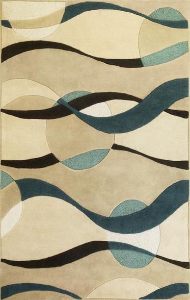 New design machine made polyester floor carpet for room decoration