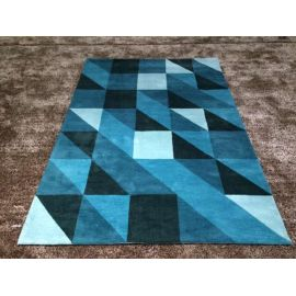Fashionable machine made plain carpet