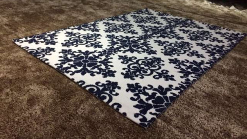High Quality Machine Made Circular Microfiber Carpet