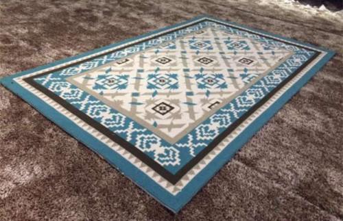 Decorative Digital Printed Beautiful Design Microfiber Machine Jacquard Carpet