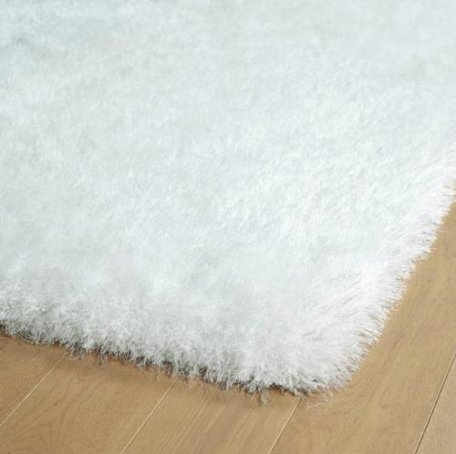 High quality handtufted shaggy polyester strech yarn and silk rugs