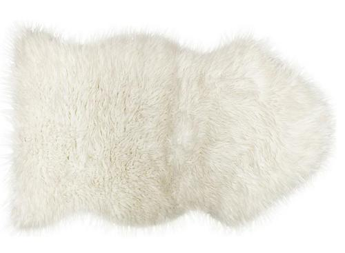 Handtufted 100% polyester artificial wool shaggy rugs with different colors