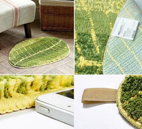 Handtufted skid proof and wear resistant doormat shaggy rugs for bedroom or bathroom
