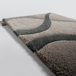 High quality handtufted polyester microfiber carpets for livingroom or bed side