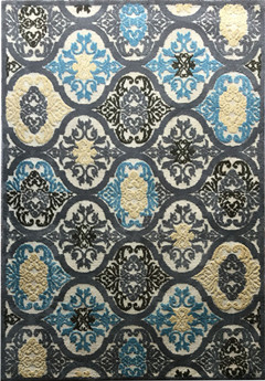 Modern design polyester carpet