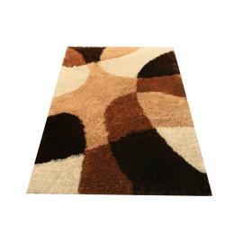 2017 Hot Modern Living Room Colorful Silk Round Shaggy Carpet Rug