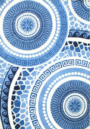 New stylish machine made polyester microfiber carpets