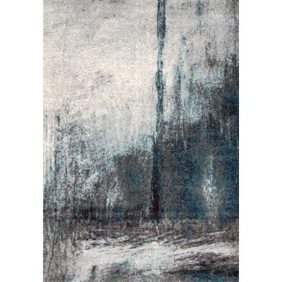 Modern design machine made polyester abstract area rugs