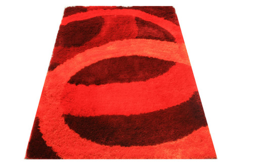 100% Polyester Material Shaggy Carpets and Rugs