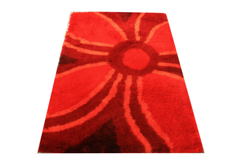 multi -clolor mixed-pile flowery polyester shaggy 3d carpet/rug designs