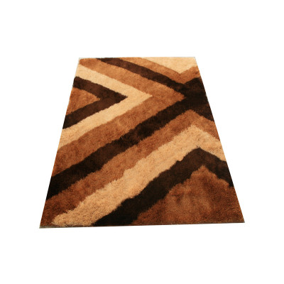 polyester popular plain design shaggy carpet China, modern shaggy carpet