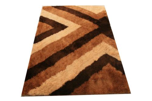 polyester popular plain design shaggy carpet China, modern shaggy carpet