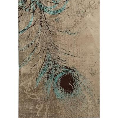 High quality jacquard machine made 100% polyester rugs for decoration