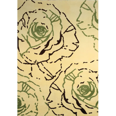 Popular style machine made polyester abstract flower carpets for wholesale