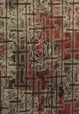 Modern design machine made high quality microfiber carpets