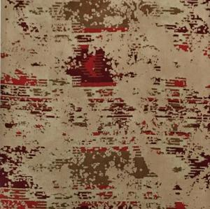 High quality machine made polyester abstract style carpet for livingroom