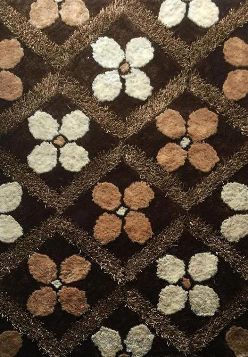 Hot selling hand tufted polyester shaggy carpets for livingroom