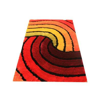 Decorative shaggy rug polyester shaggy carpet