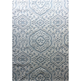 polyester machine embossed design machine made jacquard carpet china