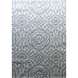 polyester machine embossed design machine made jacquard carpet china
