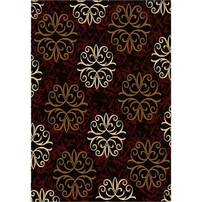 Customized machine made 100% polyester rugs for wholesale