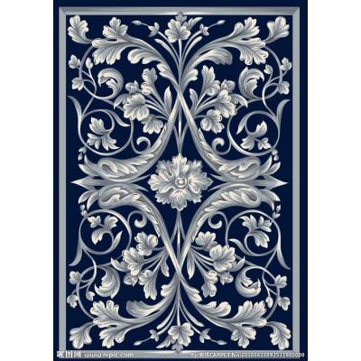 High quality machine made polyester comfortable carpets for livingroom