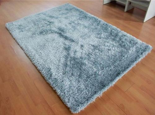 Hot selling handtufted 100% polyester 150D silk and stretch yarn carpets for livingroom