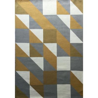 Microfiber polyester modern design carpet and rug