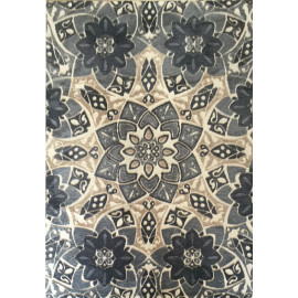 wholesale high quality polyester flower design carpet