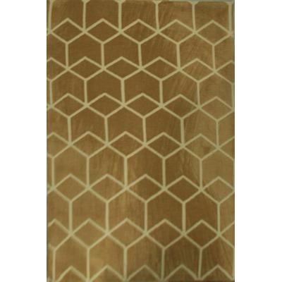 Modern style machine made polyester area rugs from Tianjin China
