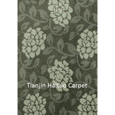 Hot selling machine made polyester decorative floor carpets