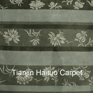 Hot selling machine made polyester soft carpets for decoration