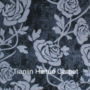 Microfiber machine made floor carpet from China