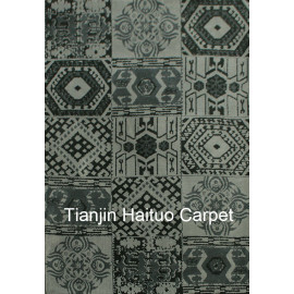 Modern design machine made 100% polyester rugs for decoration
