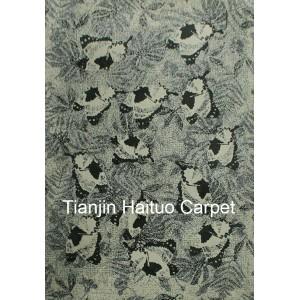 Jacquard knitting polyester rugs for livingroom
