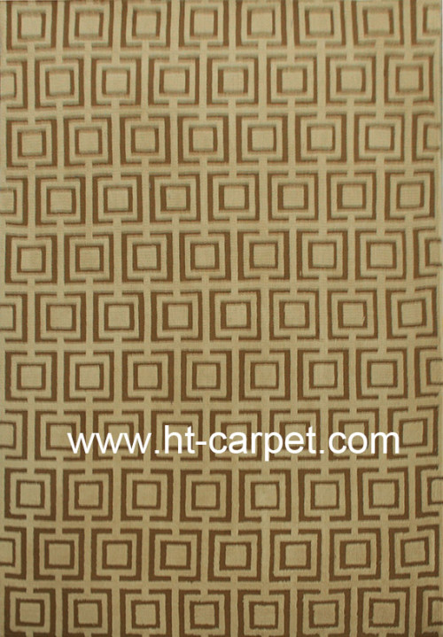 Machine made polyester area carpets for wholesale