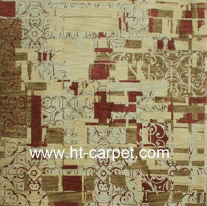 New stylish machine made soft microfiber carpet for decoration