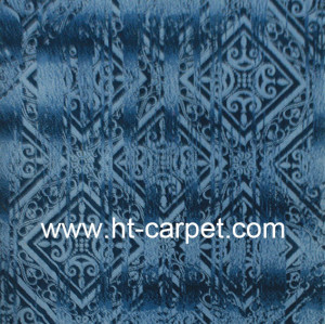High quality machine made blue 100% polyester rugs