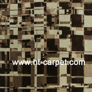 Machine made microfiber carpets for home decoration