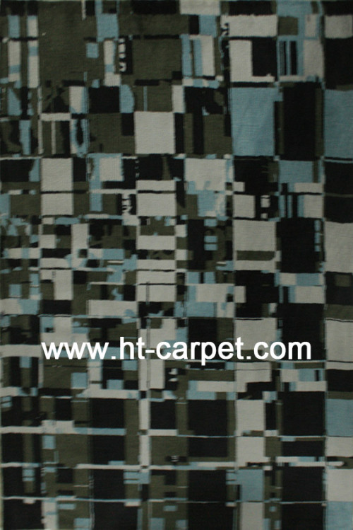Machine made microfiber carpets for home decoration
